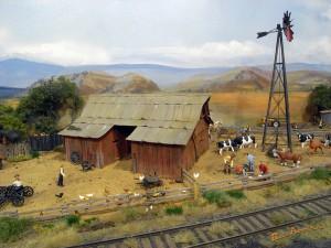 アメリカ型鉄道模型_farm