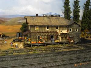 アメリカ型鉄道模型_oldstation